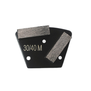 2 Bar Segment Trapezoid Metal Bond Diamond DMY-43