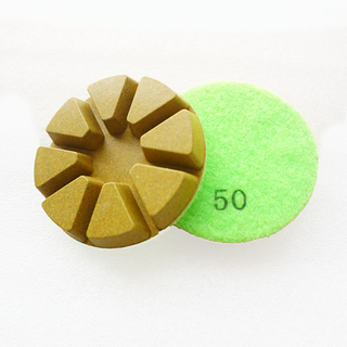 8 Triangles Diamond Resin Bond Wet Floor Polishing Pads DMY-02