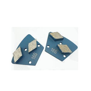 Double Segments Diamond Trapezoid Metal Griding Disc Grit 16-400#