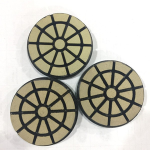 Ceramic Bond Abrasive Pads, 3 Inch Transitional Polishing Pad