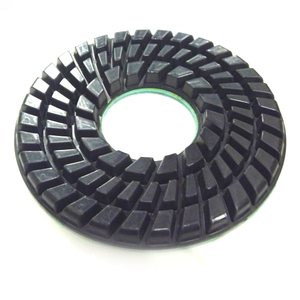7 Inch Resin Dry Polishing Pad For Concrete