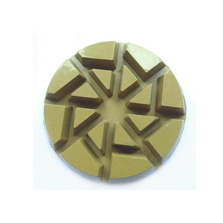Velcro Backed Diamond Hybrid Floor Polishing Pads Of Concrete Tools DMY-36A