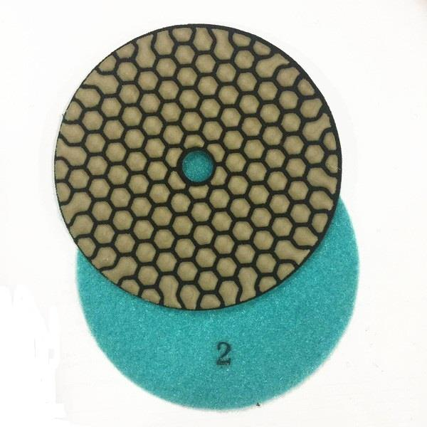 125mm Stone Restoration Pads, 3 Steps Marble Polishing Pads