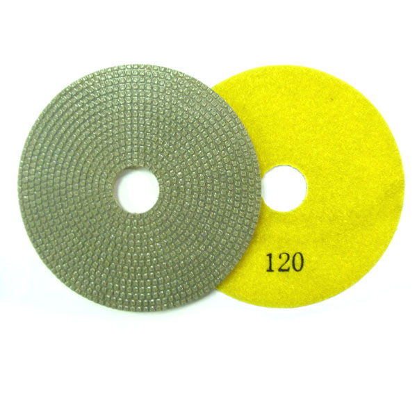 4 Inch Diamond Electroplated Pads Tool for Marble/ Granite Polishing
